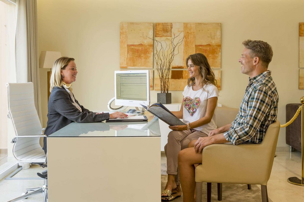 Super-fast check-in for all Signature guests