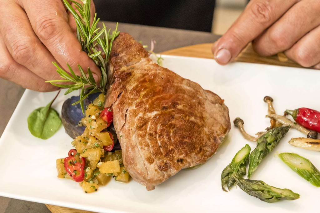 Delicious dishes served every day at Sunningdale Village