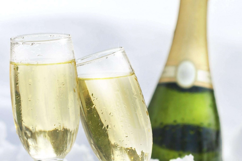 Champagne to celebrate a special occasion